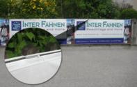Öko-Banner mit optinalem Multlochsaum