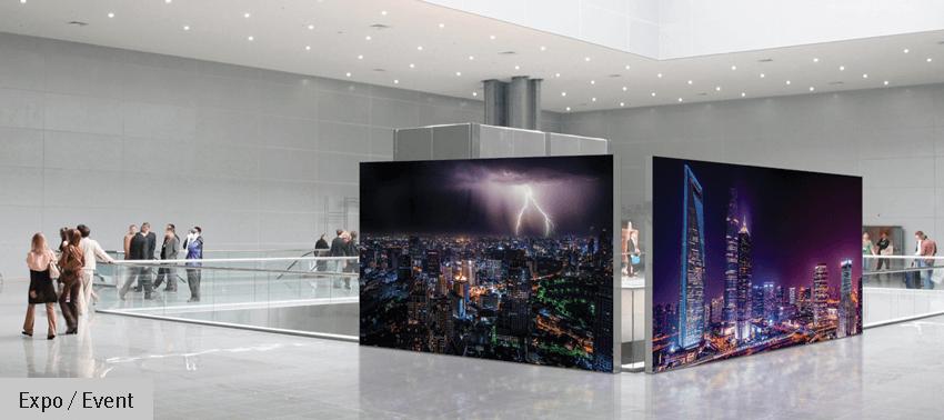 Werbewand für das Geschäftslokal bedrucken lassen - Inter Fahnen