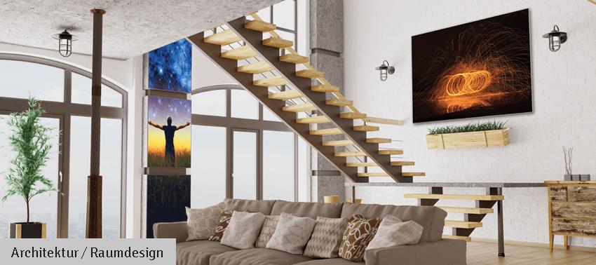 Mit Textilspannrahmen dem Zuhause einen neuen Look verleihen - Inter Fahnen