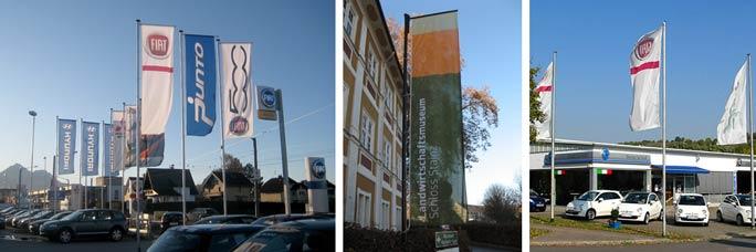 Werbeflaggen bedrucken - Inter Fahnen