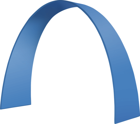 "Zipper-Display ""arch B"""