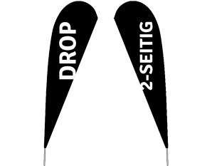 """Drop """"Premium"""" 2-seitiger Druck"""